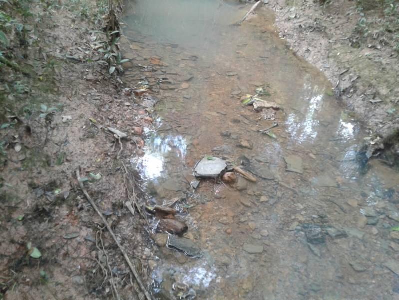 Análise de água de Rios Anália Franco - Coleta de água para Análise Físico Química