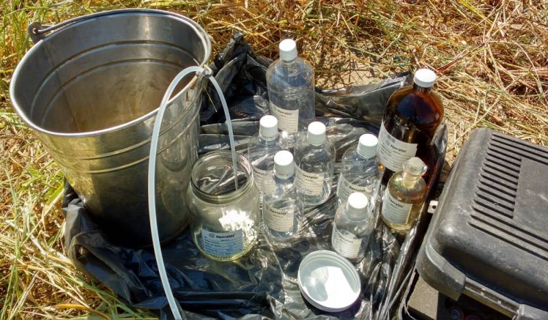 Análise Laboratorial de água Parada Inglesa - Análise Laboratorial