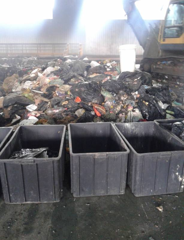Análises de Resíduos Sólidos Santos - Análise de Resíduo Seco