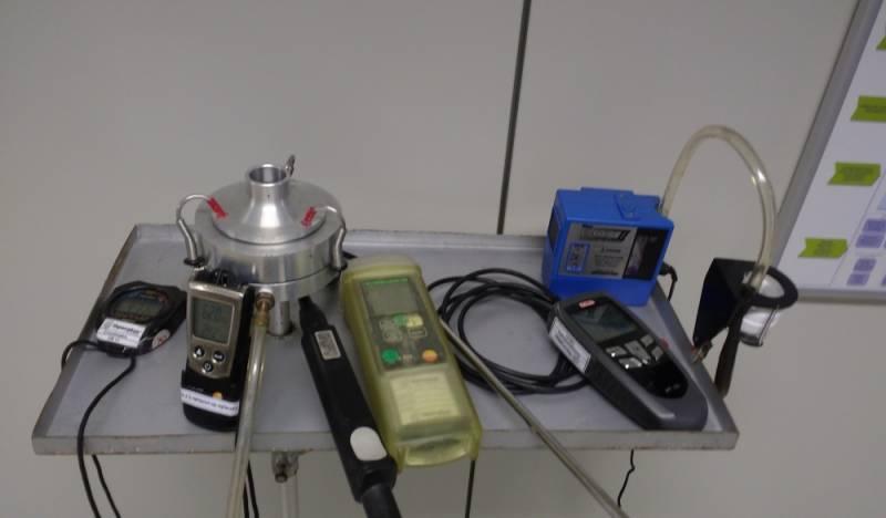 Análises do Ar em SP Marapoama - Análise Química do Ar