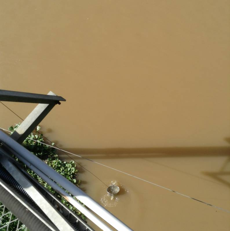 Coleta de água de Rio Hortolândia - Coleta de água de Rio