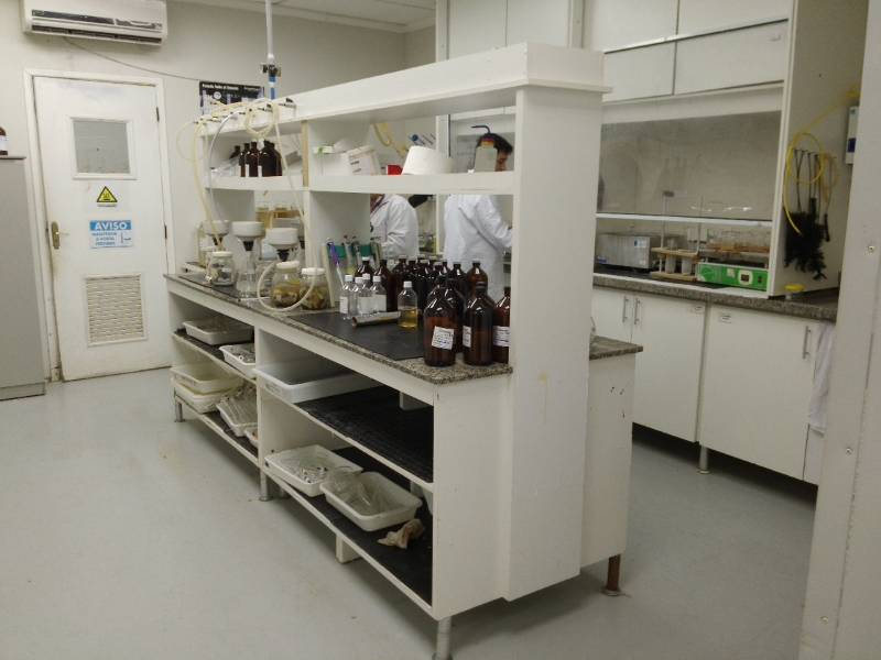Coletas de água para Análises Físico Química Iguape - Análise Microbiológica da água de Rios
