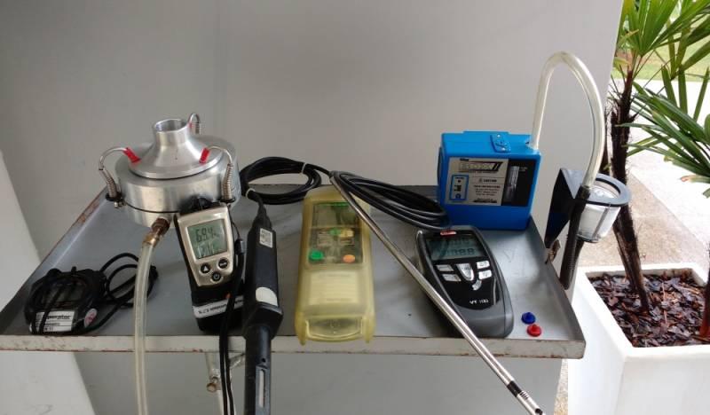 Laboratório de Amostragem de Ar Ambiente Mongaguá - Amostragem de Ar