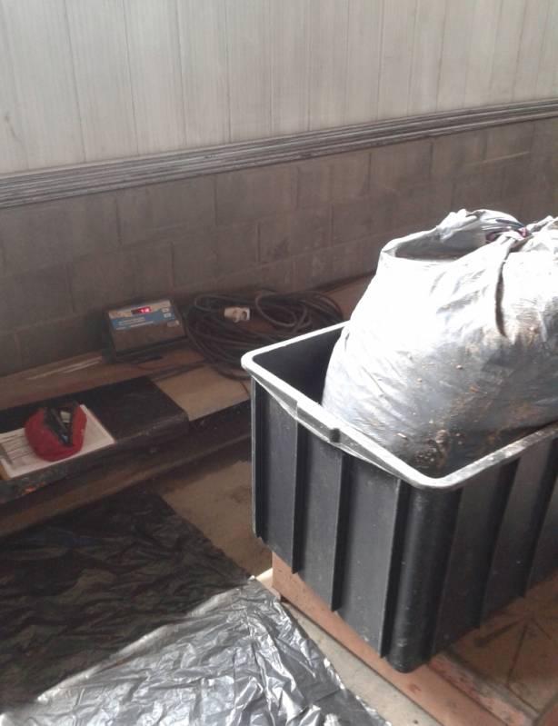 Laboratório de Gravimetria Nova Iguaçu - Análise Gravimétrica do Lixo