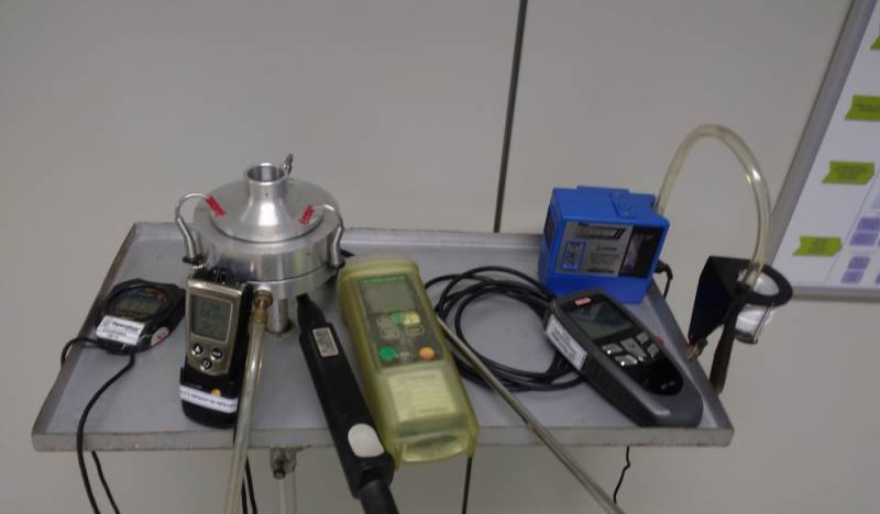 Microbiologia do Ar em SP Macaé - Amostragem de Ar