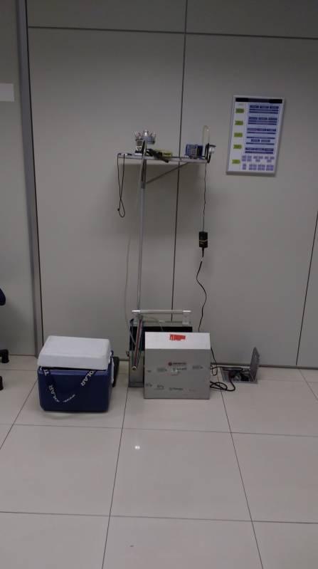 Onde Encontro Laboratório de Amostragem de Ar Tatuapé - Amostragem de Ar