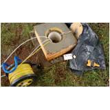 amostragem de água subterrânea baixa vazão Cidade Patriarca
