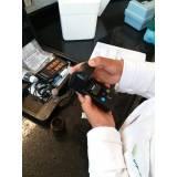 amostragem de água em SP