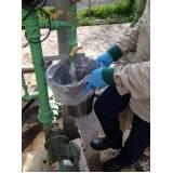 amostragens de efluentes Guararema