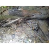 análise microbiológica da água de rios Araras