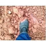 análise de solo seco