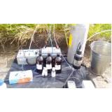 coleta de água para análise química Butantã