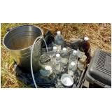 empresa de amostragem de água subterrânea baixa vazão Luz