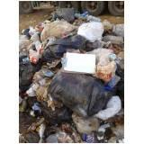 análise gravimétrica do lixo