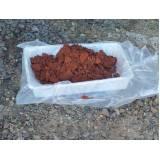 relatório de coleta de amostra de solo